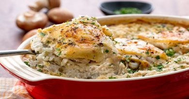 Rice and chicken casserole -Netmarkers