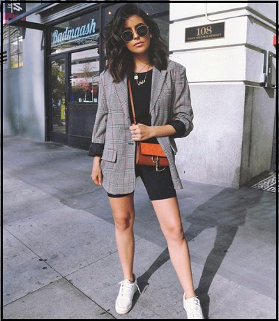 Top 10 Summer Fashion Trends Of 2019 - Bike Shorts And Blazers - NetMarkers