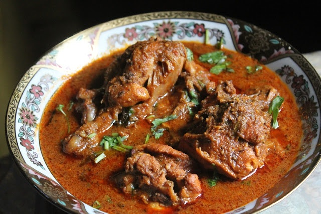 Top Ten Mouth Watering Chicken Curry Recipes - Kolhapuri-Chicken