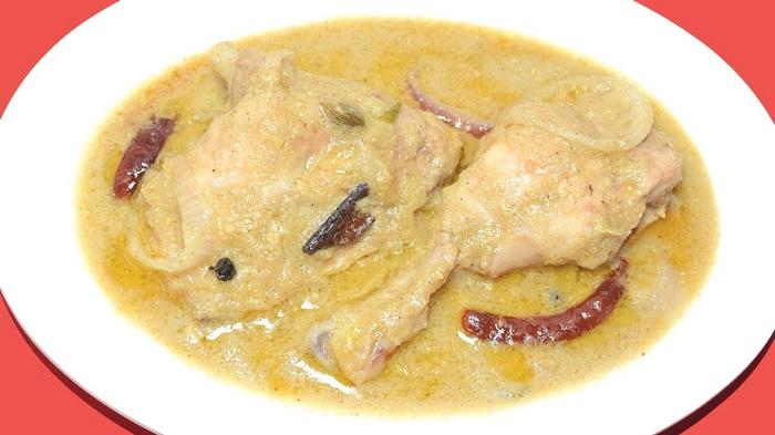 Top Ten Mouth Watering Chicken Curry Recipes - Murgh Rezala