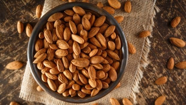 10 Tricks To Get Instantly Energized-Munch Almonds-NetMarkers