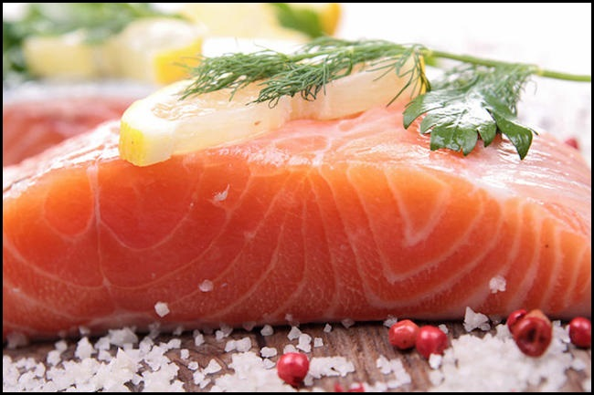 Beauty Tips For All Skin Type-Wild Salmon Prevents Skin from Sun Damage-NetMarkers