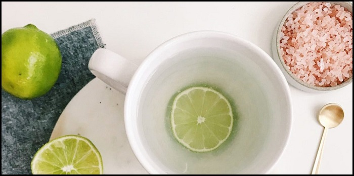 Improve Your Health With These Top 10 Fitness Tricks - Lime Juice And Himalayan Salt - NetMarkers